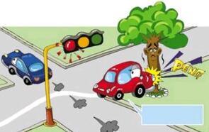 车辆闯红灯