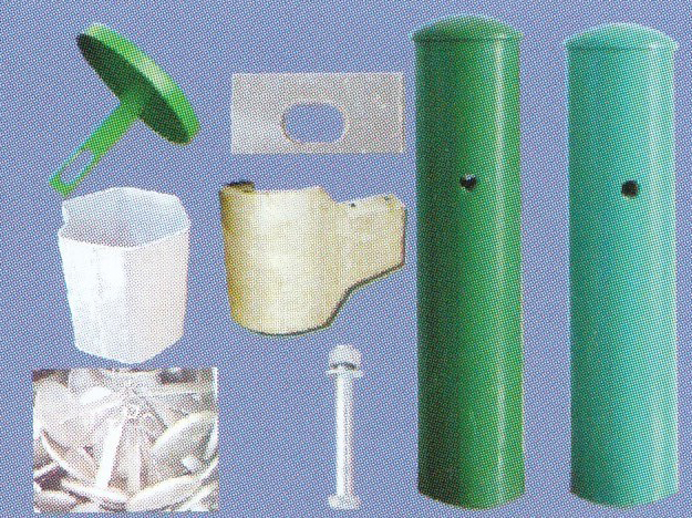 护栏立柱、防阻块及配件