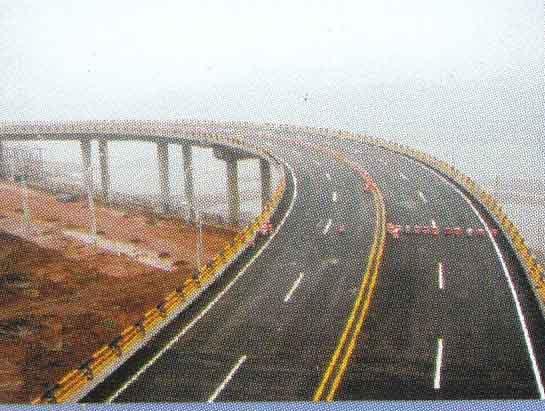 桥梁护栏工程实景
