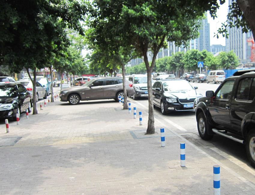 市政道路隔离设施(钢制隔离桩2)