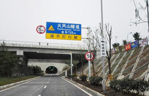 金童路南段工程(标志、标线、电子警察4)