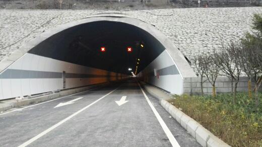 金童路南段工程(标线、车道指示器2)